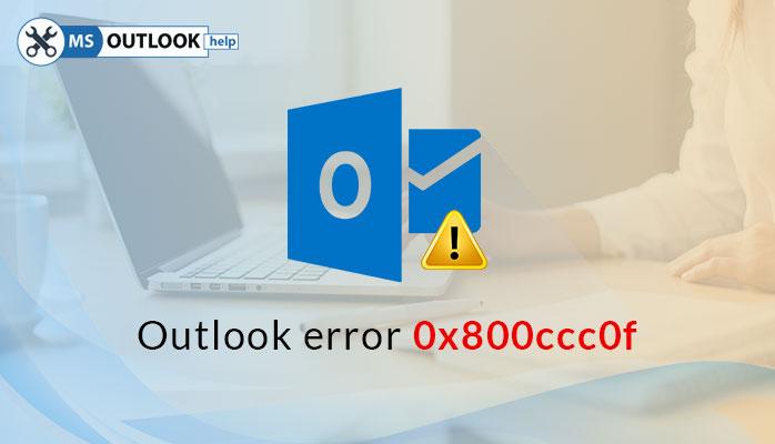 send/receive error 0x800ccc0f