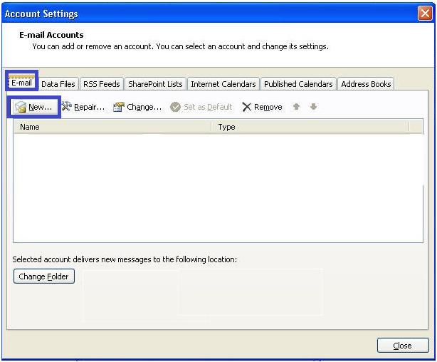 MS Exchange server reported error 0x80040116